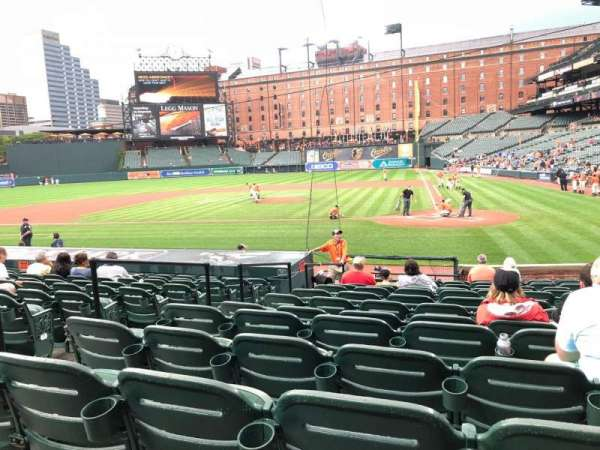 Oriole Park at Camden Yards, section: 46, row: 15, seat: 4