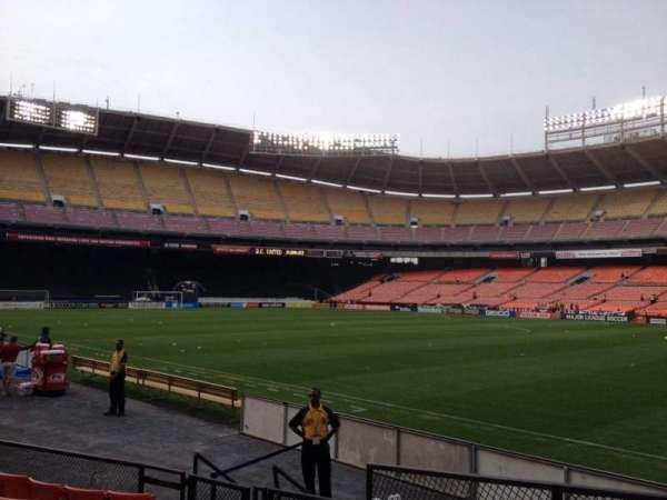 RFK Stadium, section: 101, row: 8, seat: 11