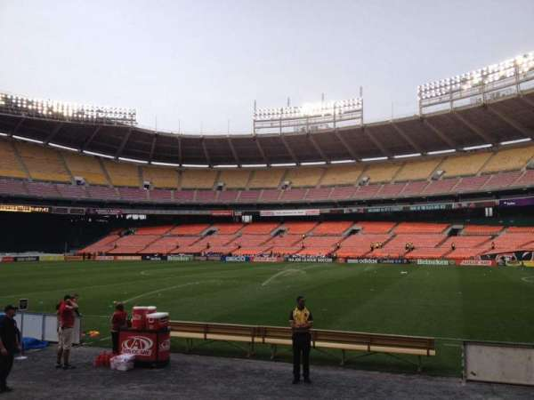 RFK Stadium, section: 102, row: 7, seat: 7