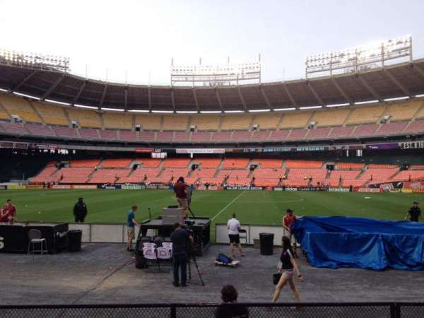 RFK Stadium, section: 106, row: 7, seat: 6