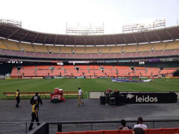 RFK Stadium, section: 108, row: 8, seat: 12
