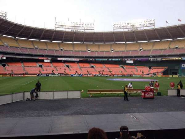 RFK Stadium, section: 110, row: 8, seat: 9