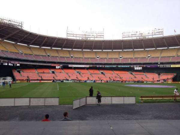 RFK Stadium, section: 111, row: 8, seat: 7