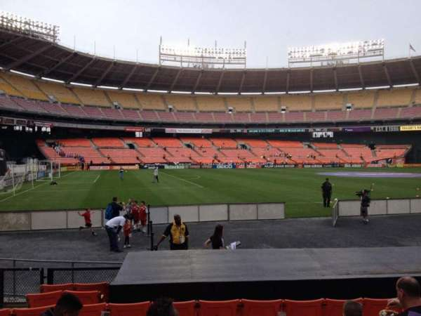 RFK Stadium, section: 112, row: 9, seat: 8