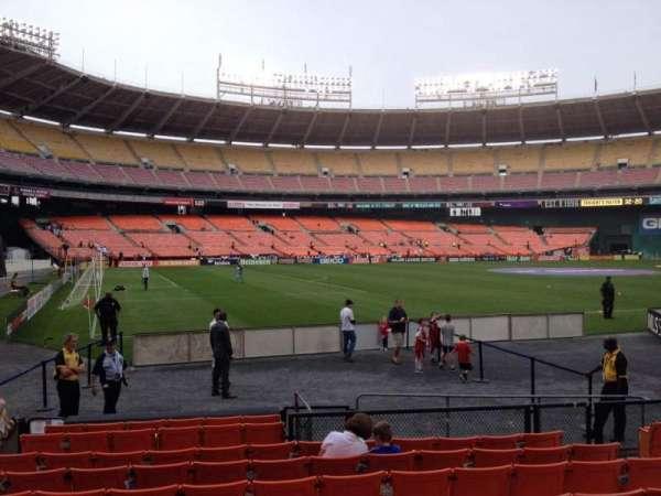 RFK Stadium, section: 113, row: 9, seat: 8