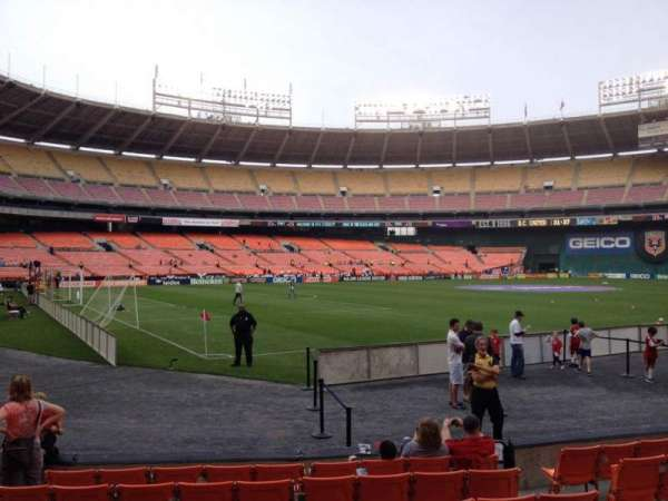 RFK Stadium, section: 114, row: 7, seat: 7