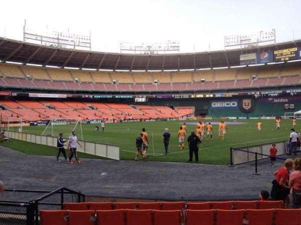RFK Stadium, section: 115, row: 6, seat: 7