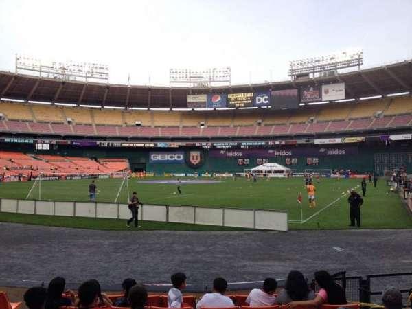 RFK Stadium, section: 117, row: 6, seat: 6