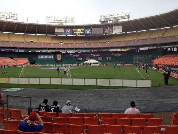 RFK Stadium, section: 118, row: 7, seat: 6