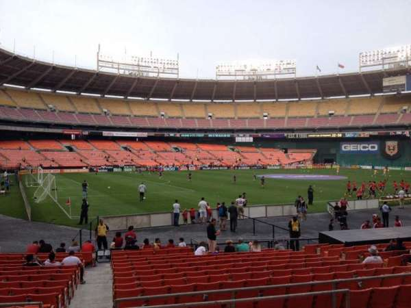 RFK Stadium, section: 213, row: 6, seat: 7