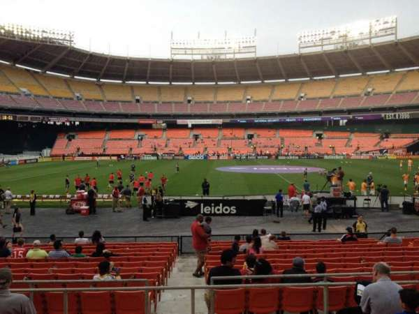 RFK Stadium, section: 207, row: 6, seat: 7