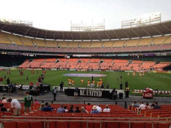 RFK Stadium, section: 205, row: 7, seat: 9