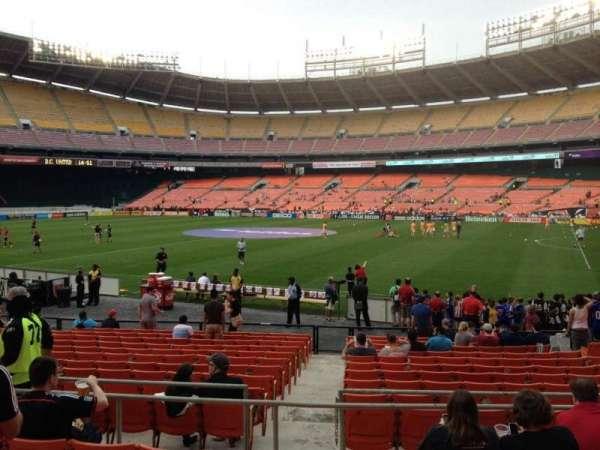 RFK Stadium, section: 203, row: 6, seat: 7