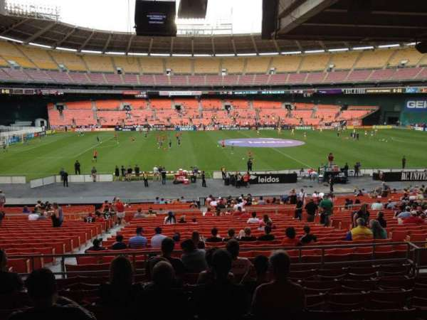 RFK Stadium, section: 308, row: 9, seat: 9