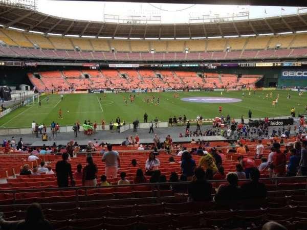 RFK Stadium, section: 310, row: 8, seat: 9