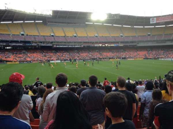 RFK Stadium, section: 235, row: 8, seat: 11