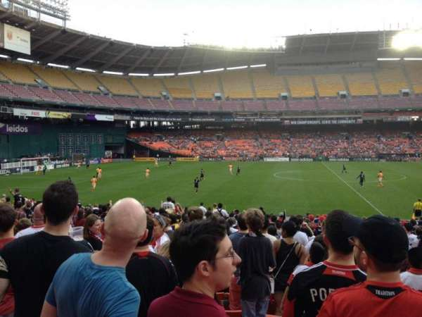 RFK Stadium, section: 234, row: 9, seat: 10