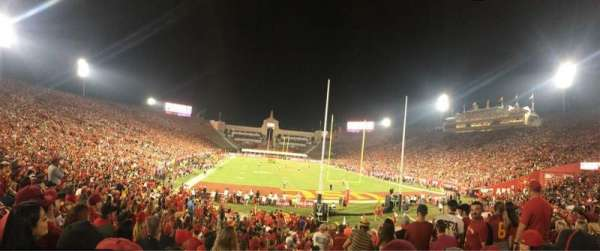 Los Angeles Memorial Coliseum, section: 15L, row: 23, seat: 13