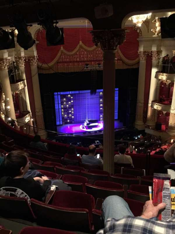 Academy of Music, section: Family Circle F, row: G, seat: 7