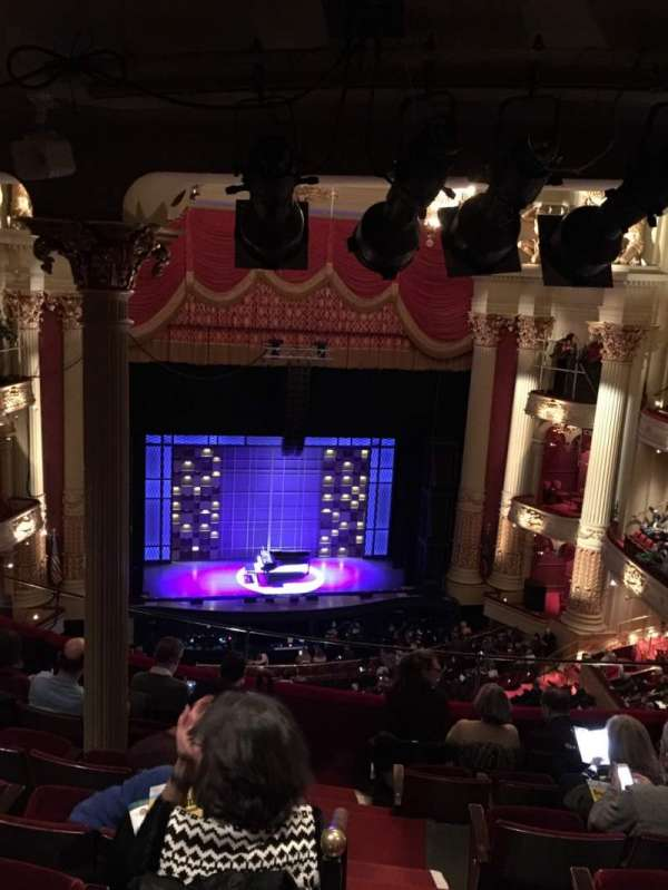 Academy of Music, section: Family Circle F, row: G, seat: 1