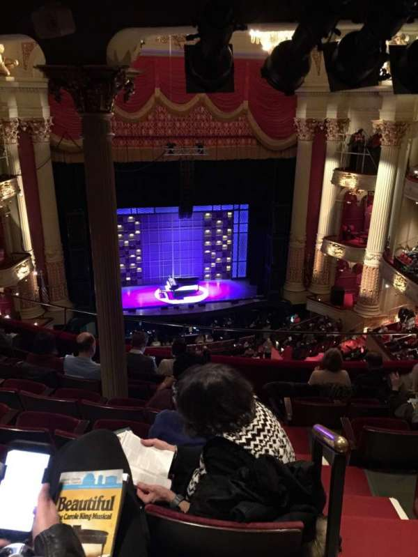 Academy of Music, section: Family Circle F, row: G, seat: 3