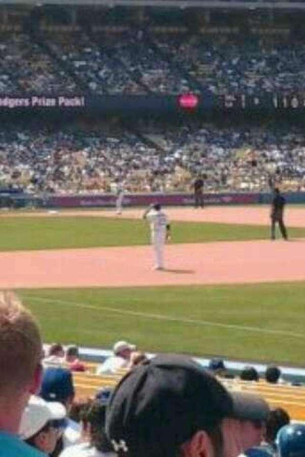 Dodger Stadium, section: 40FD, row: m, seat: 7