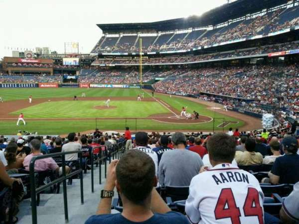 Turner Field, section: 108R, row: 26, seat: 1