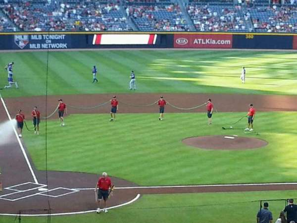 Turner Field, section: 205, row: 6, seat: 101