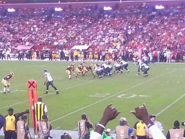 FedEx Field, section: 118, row: 10, seat: 17