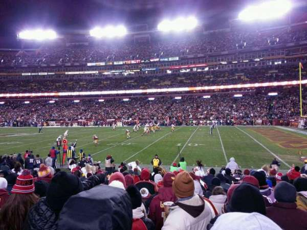 FedEx Field, section: 118, row: 10, seat: 16