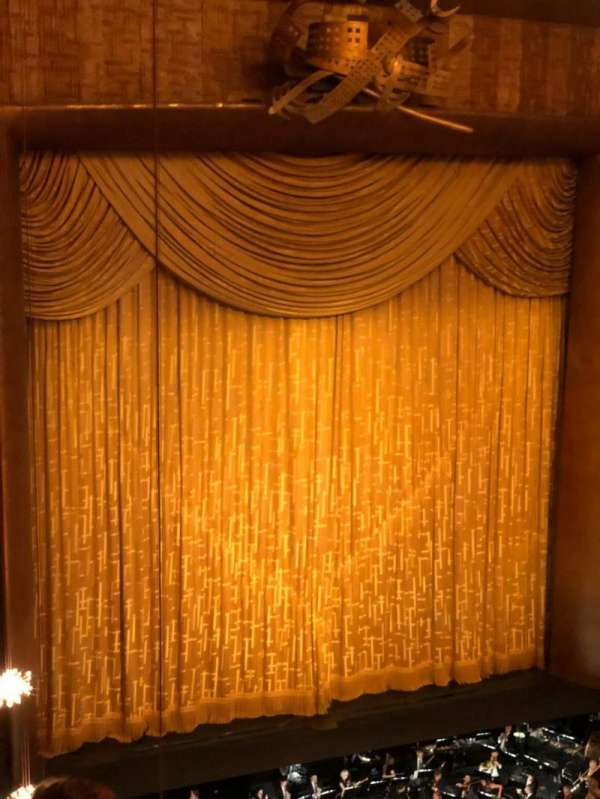 Metropolitan Opera House - Lincoln Center, section: Balcony, row: D, seat: 25