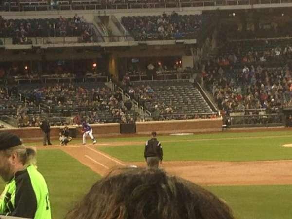 Citi Field, section: 106, row: 11, seat: 9