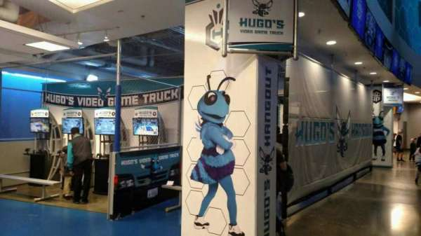 Spectrum Center, section: Hugos Hangout 200 Level