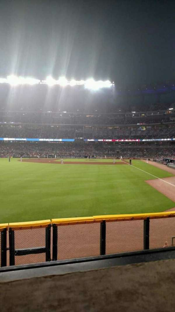 Truist Park, section: 144, row: 9, seat: 19