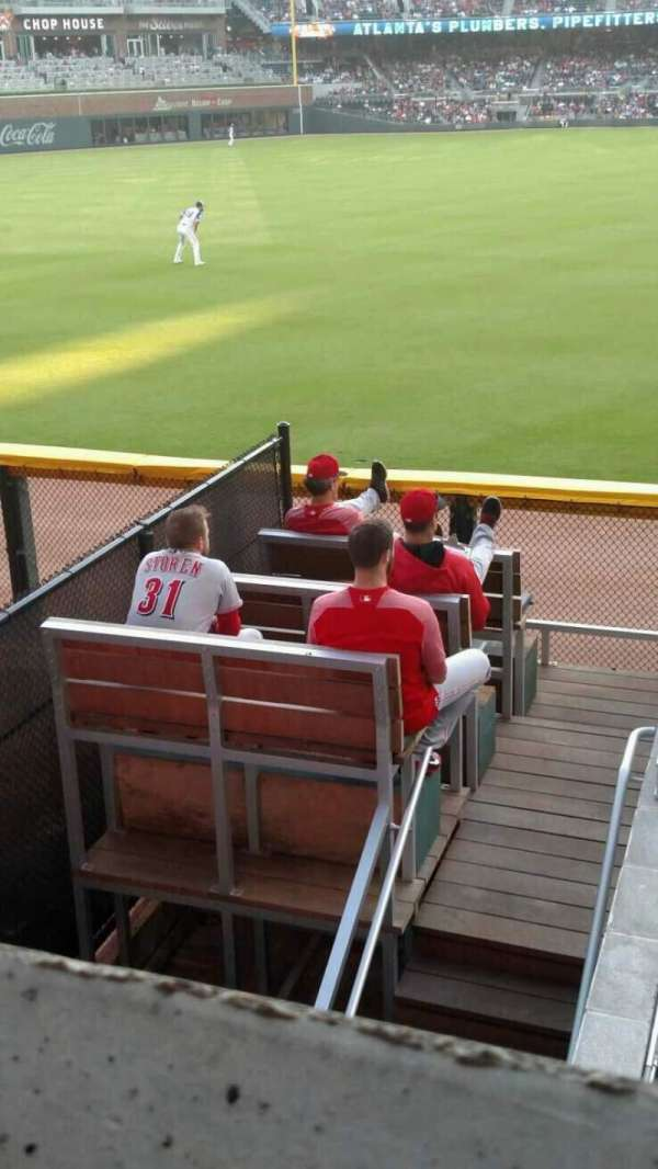 Truist Park, section: 144, row: 9, seat: 1