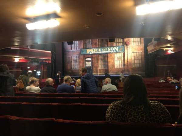 Adelphi Theatre, section: Stall, row: T, seat: 10