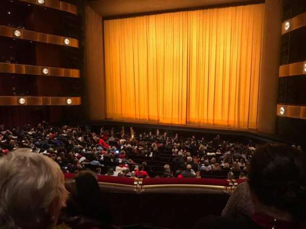 David H. Koch Theater, section: 1st Ring, row: C, seat: 12