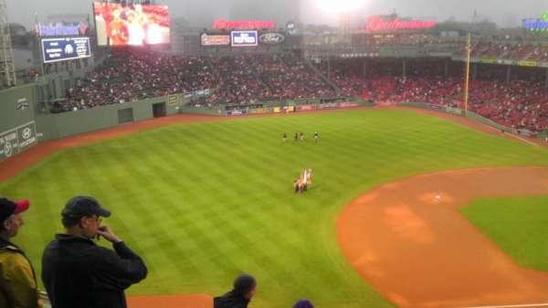 Fenway Park, section: PB, row: A, seat: 5