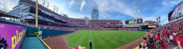 Great American Ball Park, section: 140, row: B, seat: 10
