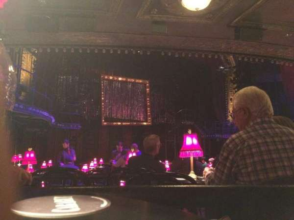 Studio 54, section: Orchestra C, row: H , seat: 101