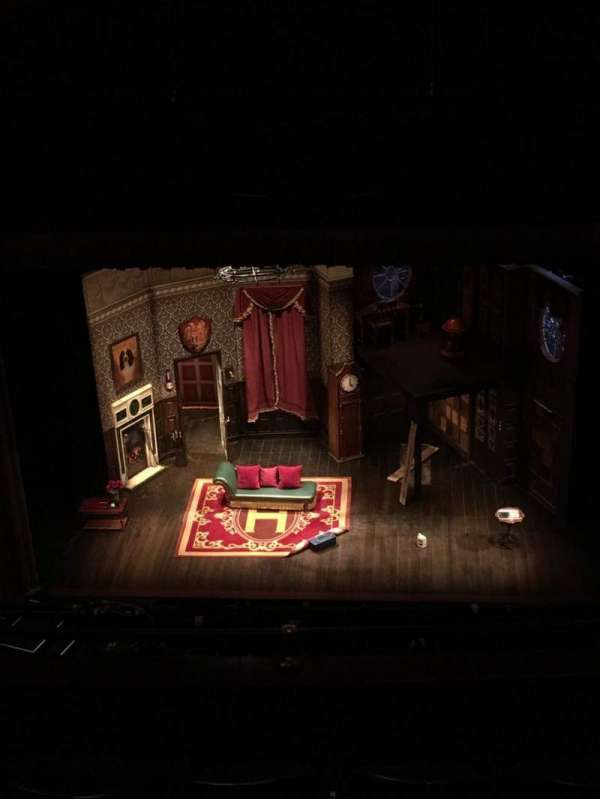 Lyceum Theatre (Broadway), section: Balcony C, row: M