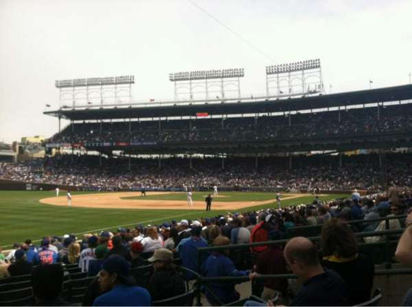 Wrigley Field, section: 106