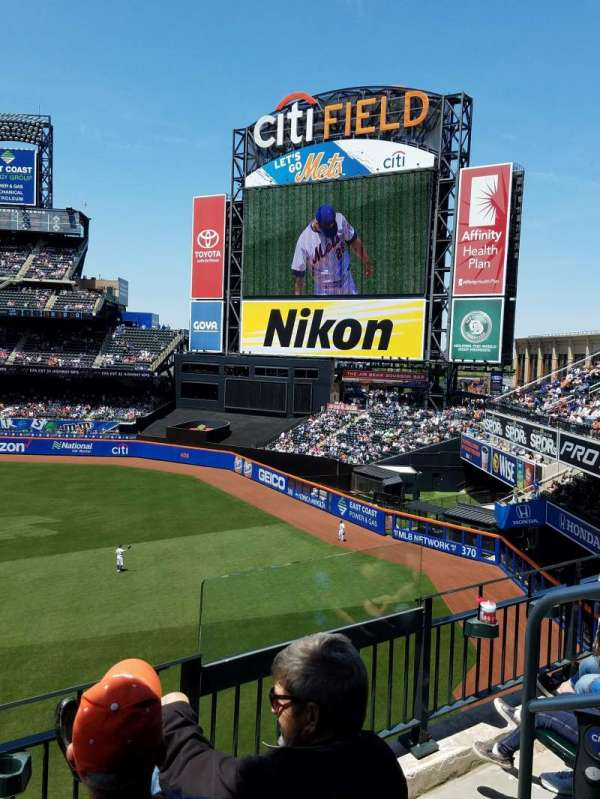Citi Field, section 307, home of New York Mets on