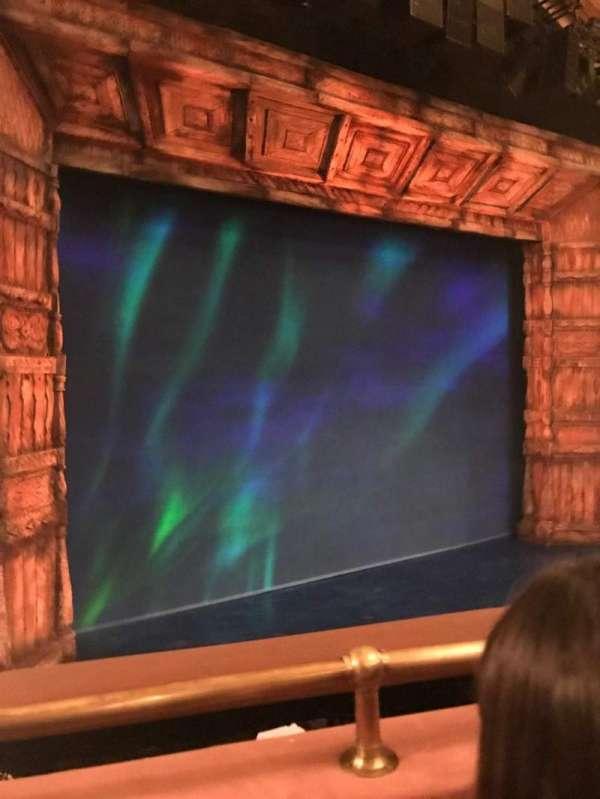 St. James Theatre, section: Mezzanine L, row: Gr, seat: 32