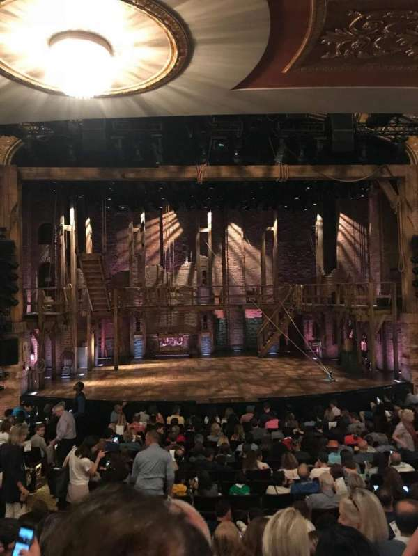 Richard Rodgers Theatre, section: Orchestra C, row: Q, seat: 110