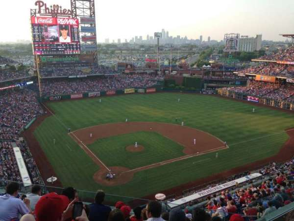 Citizens Bank Park, section: 419, row: 7, seat: 7