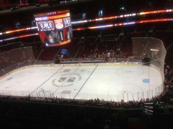 Wells Fargo Center, section: 214, row: 11, seat: 23
