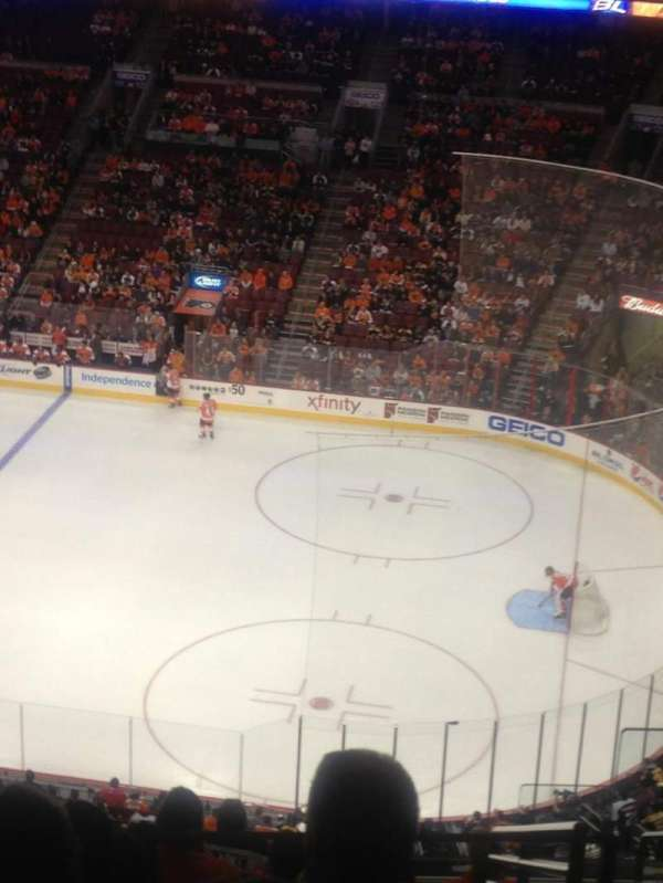 Wells Fargo Center, section: 215, row: 11, seat: 23