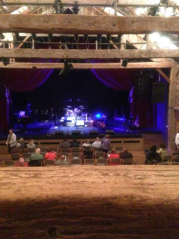 The barn At Wolf Trap,, section: Prmbalc, row: AA