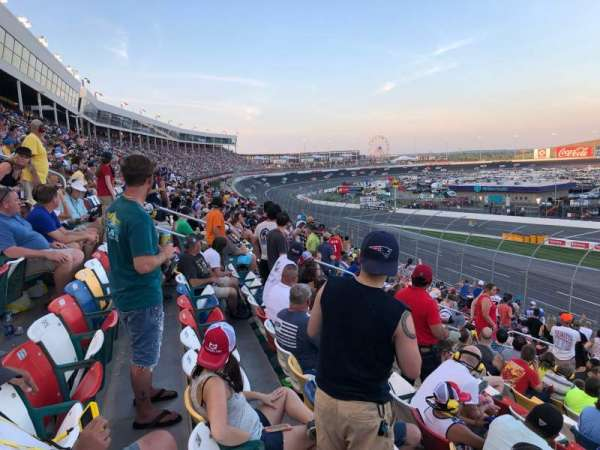 Charlotte Motor Speedway, section: Chrysler F, row: 22, seat: 18